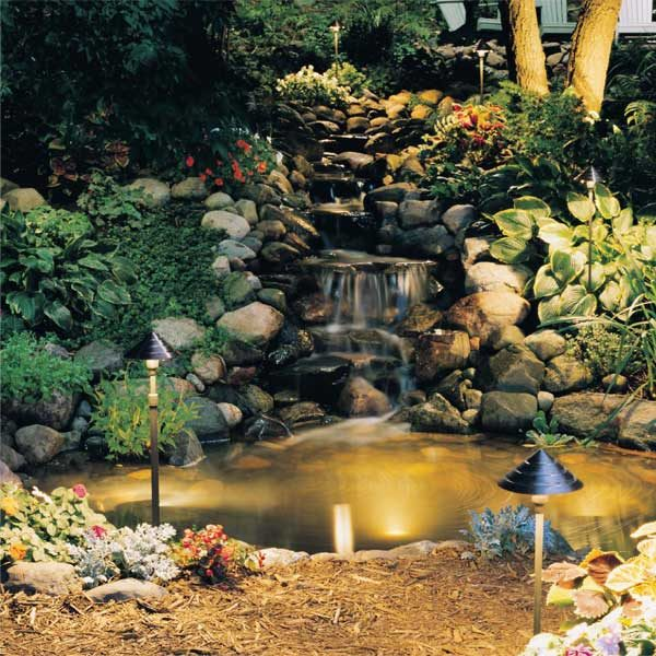 Install Outdoor Lighting For Gardens : Low voltage outdoor lighting the family handyman