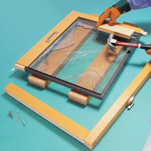 how to fix moisture between window panes