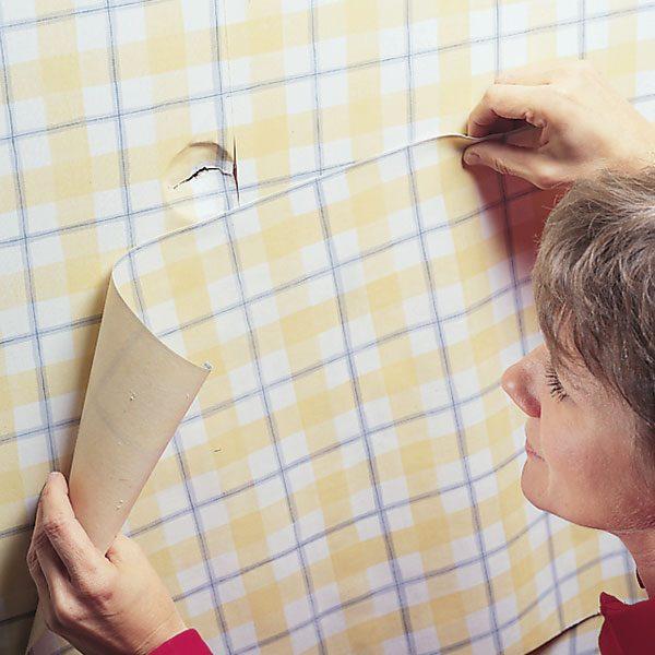How To Repair Damaged Wallpaper