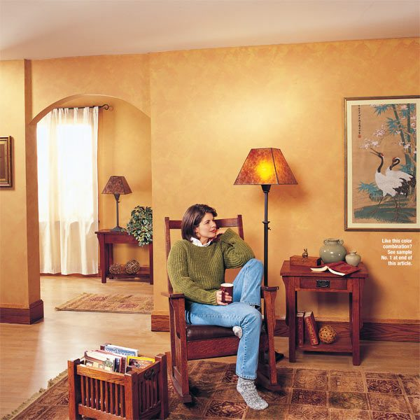 dual roller decorative painting systems can create unique color and. Black Bedroom Furniture Sets. Home Design Ideas
