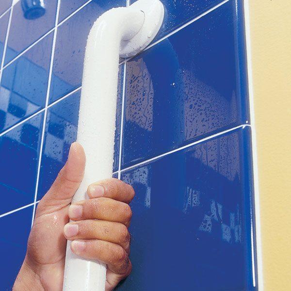 How To Install Bathroom Grab Bars The Family Handyman