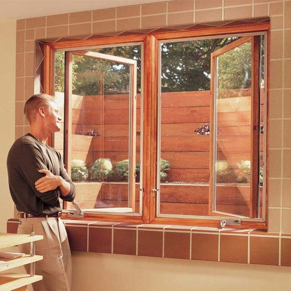 How to install basement windows and satisfy egress codes for Basement windows