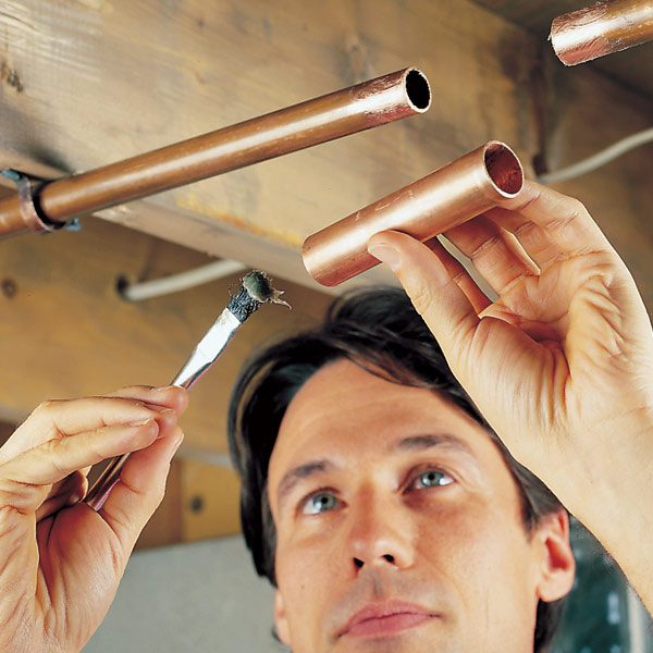 How To Repair A Leaking Copper Pipe The Family Handyman