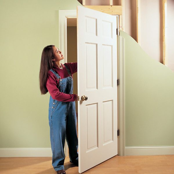 How To How To Replace An Interior Door : How To Repair Interior Doors | The  .