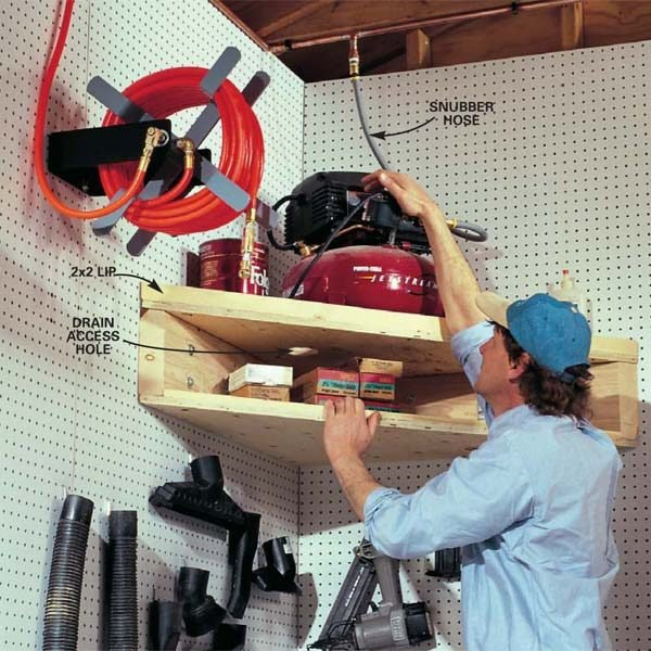 Small Workshop Storage Solutions The Family Handyman
