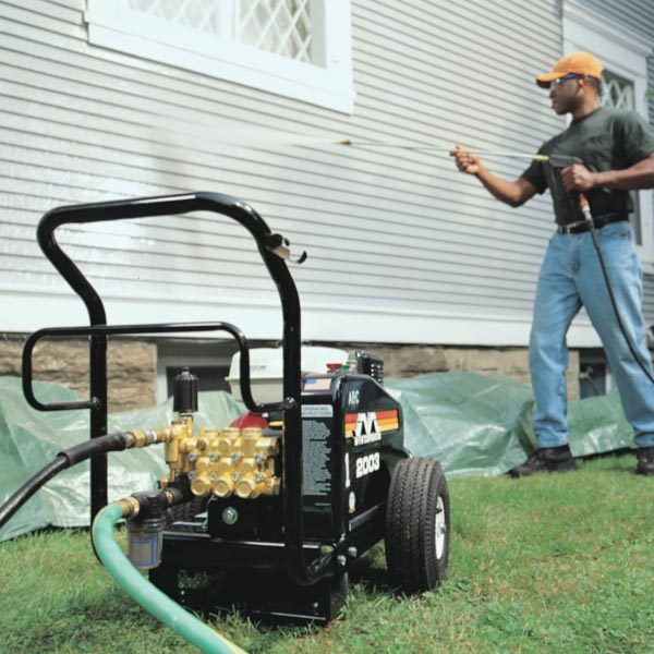 how to cut pressure washer hose shorten