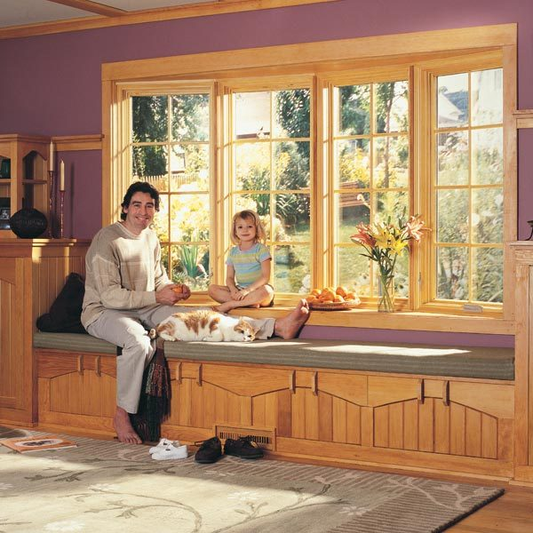 How to install a bow window the family handyman for Bow window installation
