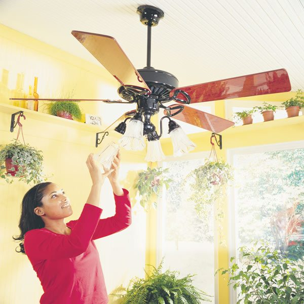 52 CEILING FAN 3-SPEED QUICK CONNECT DUAL MOUNT BRONZE items in