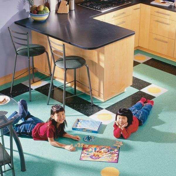 How to Lay a Vinyl Tile Floor. How to Lay a Vinyl Tile Floor   The Family Handyman