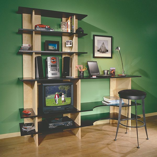 Stackable Shelves. Make your own ...