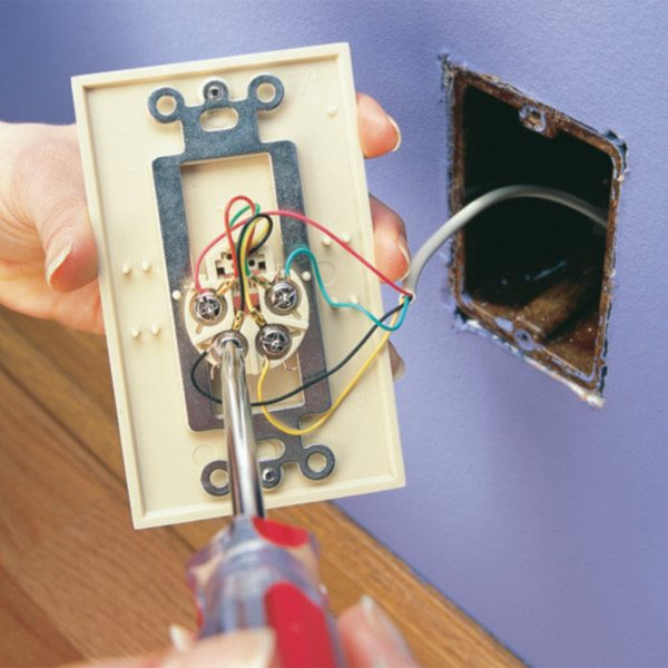 wiring diagram telephone jack wiring image wiring replace a phone jack the family handyman on wiring diagram telephone jack