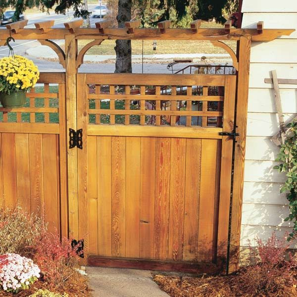 Pekayuan Guide How To Build Wooden Fence Gates