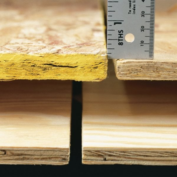 Oriented Strand Board vs  Plywood. Oriented Strand Board vs  Plywood   The Family Handyman