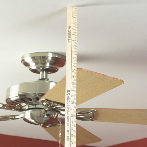 How To Balance A Ceiling Fan The Family Handyman