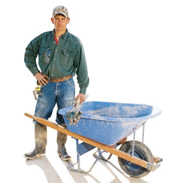 The Family Handyman: How To Pour Concrete