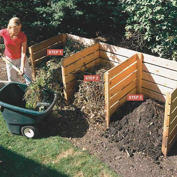 Composting tips the family handyman for Making a kitchen garden