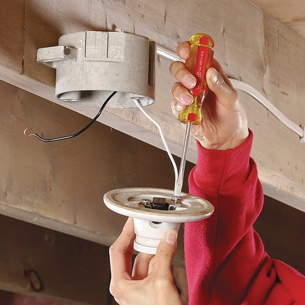 How To Replace A Pull Chain Light Fixture The Family