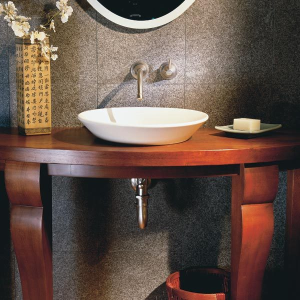 Elegant small bathroom the family handyman for Elegant small bathrooms