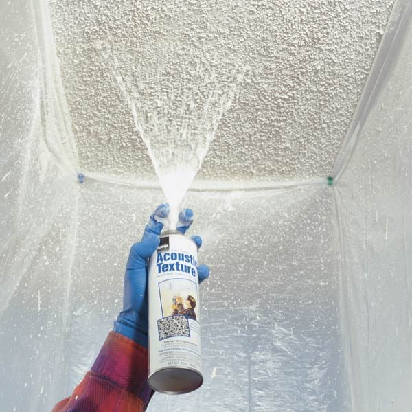 Patch A Water Stained Ceiling Or Textured Ceiling The