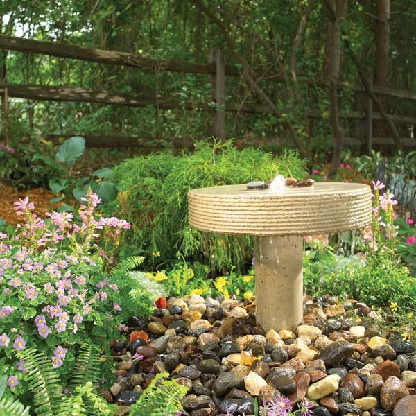 How to Build a Garden Fountain The Family Handyman