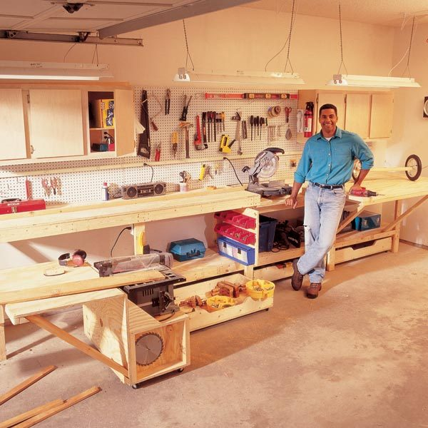 12 Super Simple Workbenches You Can Build: The Family Handyman
