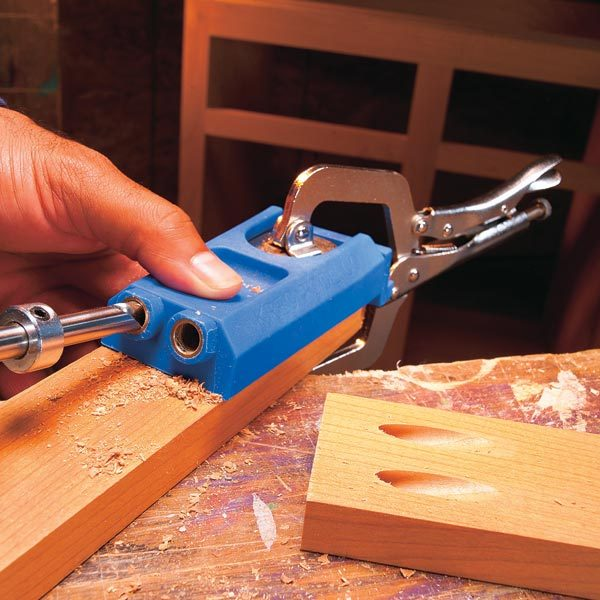 How To Use Pocket Screws The Family Handyman
