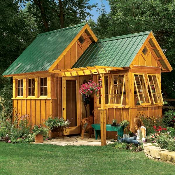 Beautiful Below, In Additional Information, Are The Materials List And Construction  Drawings For The Ultimate Garden Shed In The July/August 2014 Issue. Photo