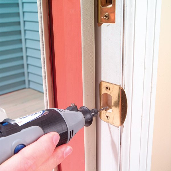 How To Fix A Door Latch The Family Handyman