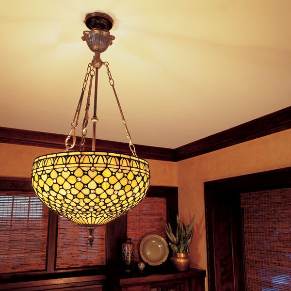 How To Hang A Ceiling Light Fixture The Family Handyman - Overhead hanging lights
