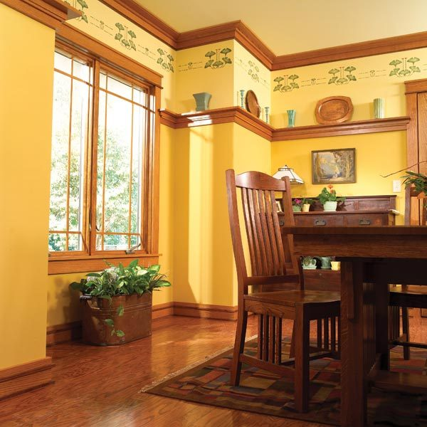 How to install craftsman trim the family handyman for Craftsman style door casing