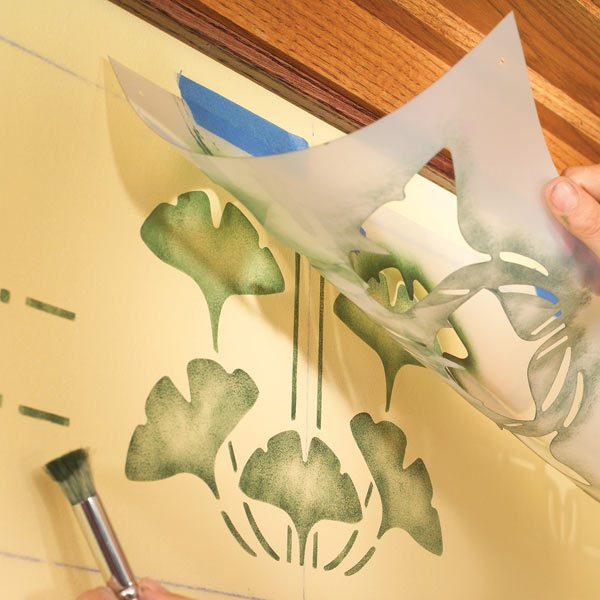 Simple Wall Stenciling | The Family Handyman