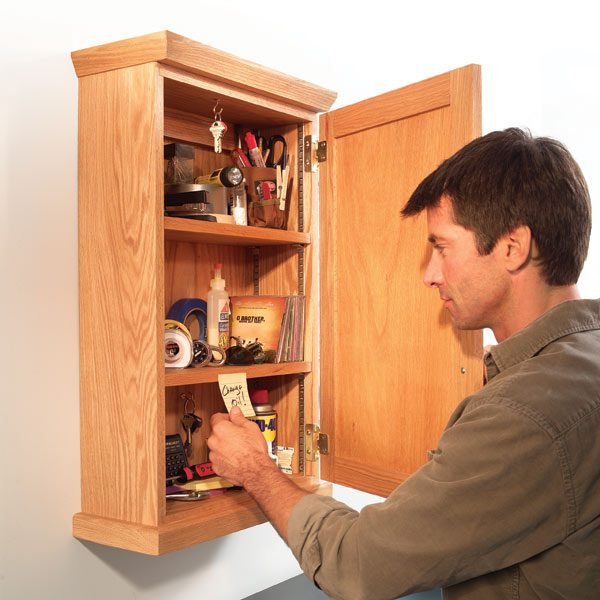 Simple Storage Cabinet The Family Handyman