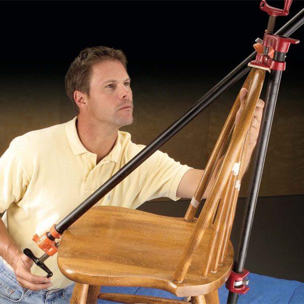 Fix a Wobbly Chair Reglue a Wooden Chair