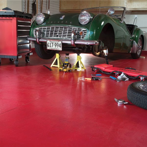 How To Ly Epoxy Floor Paint Your Garage