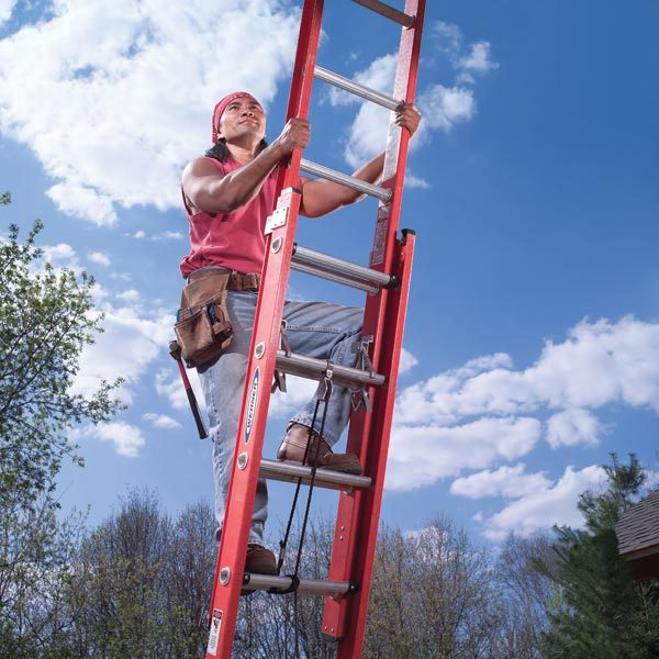 Tips And Techniques For Safe Extension Ladder Setup And