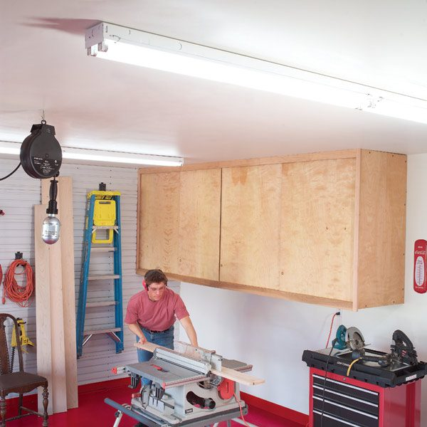 How To Achieve Better Garage Lighting The Family Handyman