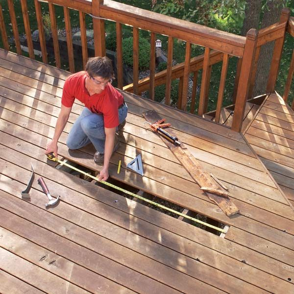 Repairing Decks And Railings The Family Handyman