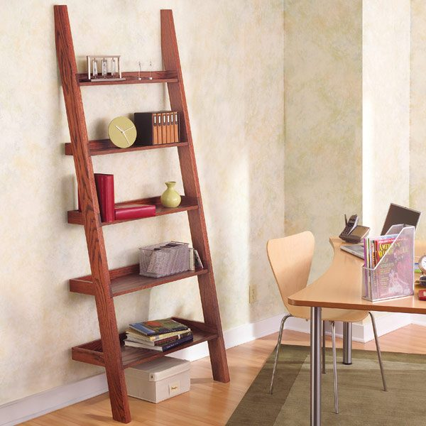 leaning tower shelf plans