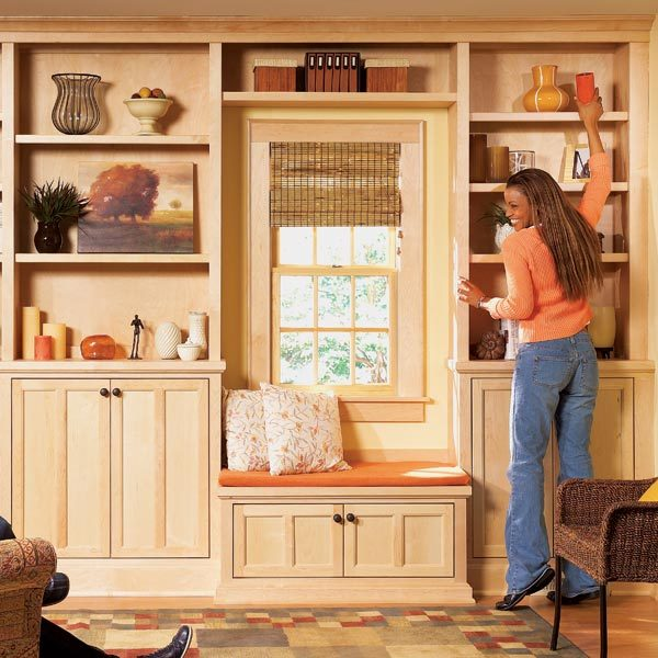 stylish shelves the family handyman. Black Bedroom Furniture Sets. Home Design Ideas