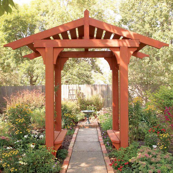 Garden Structures Fences Pergolas Arbors The Family Handyman