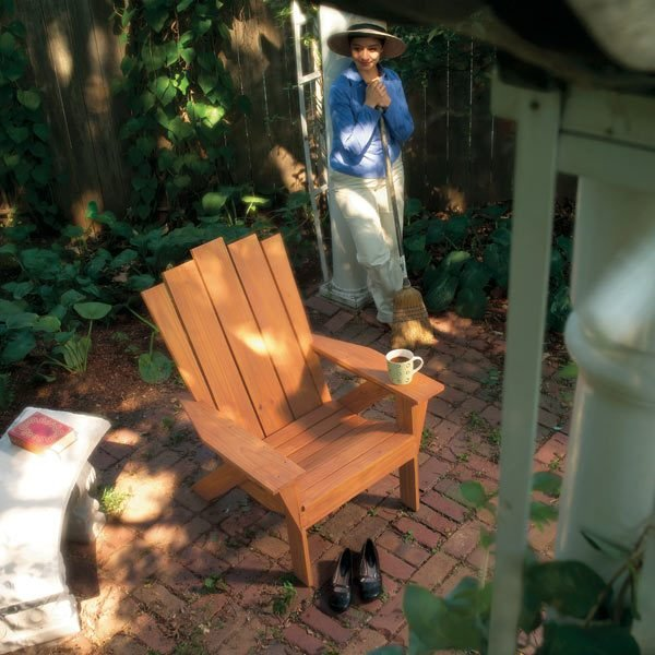 adirondack chair plans handyman