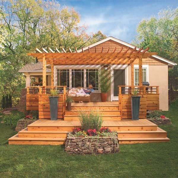 Deck Designs The Family Handyman