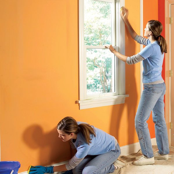 painter 39 s edge how to prepare wood trim for a smooth