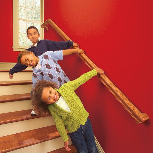 Install A New Stair Handrail The Family Handyman