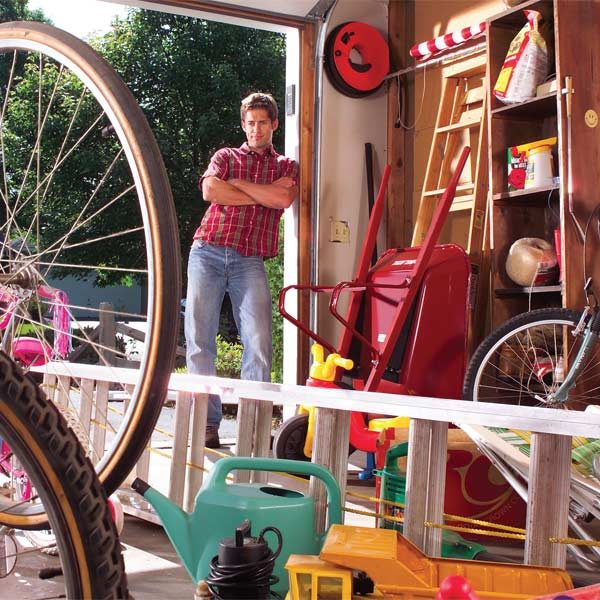 Easy Garage Storage Solutions The Family Handyman