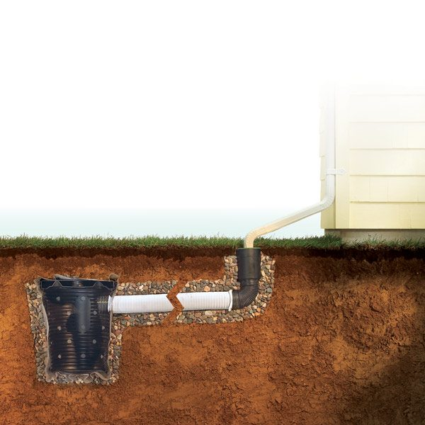 Wet Basement Repair Curing A Wet Basement The Family