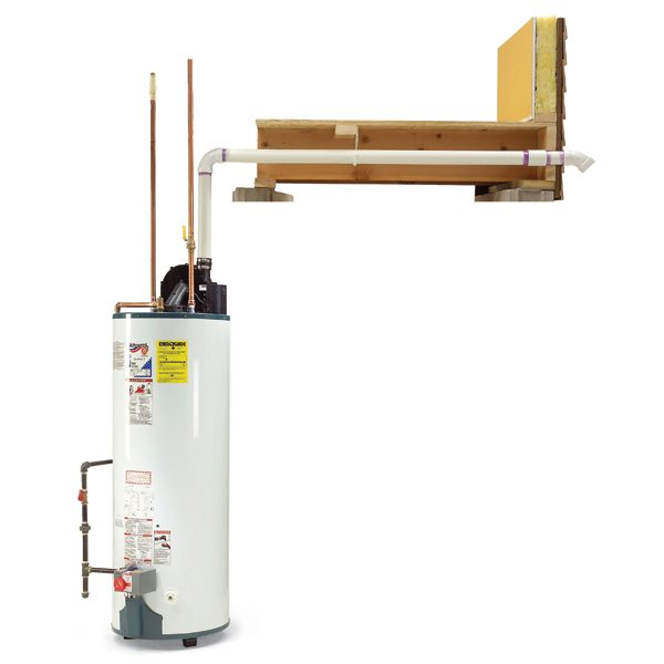 how to install a power vented water heater the family handyman how to install a power vented water heater