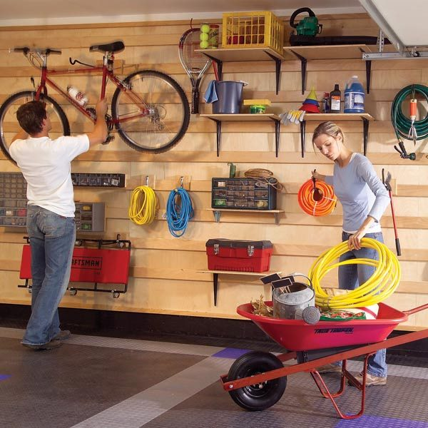 Garage Storage Systems | The Family Handyman
