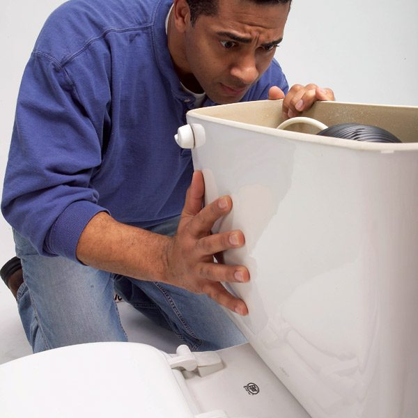 toilet repair the family handyman. Black Bedroom Furniture Sets. Home Design Ideas