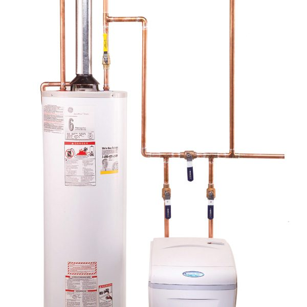 how to plumb a water softener the family handyman rough plumbing how house construction works howstuffworks